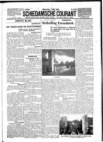 Schiedamsche Courant 1935-05-01