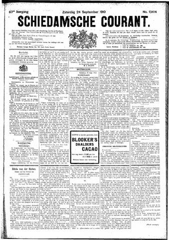Schiedamsche Courant 1910-09-24
