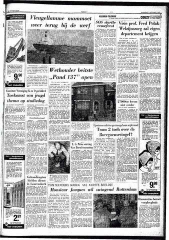 Trouw / De Rotterdammer 1969-11-03