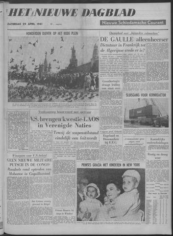 Nieuwe Schiedamsche Courant 1961-04-29