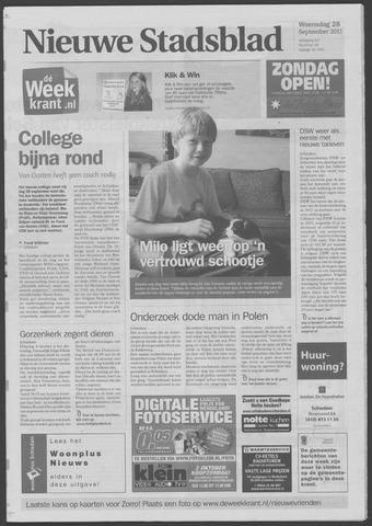 Het Nieuwe Stadsblad 2011-09-28