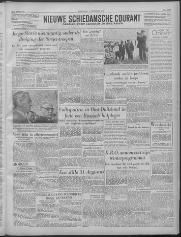 Nieuwe Schiedamsche Courant 1949-09-01