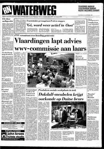 Rotterdamsch Nieuwsblad / Schiedamsche Courant / Rotterdams Dagblad / Waterweg / Algemeen Dagblad 1985-09-26