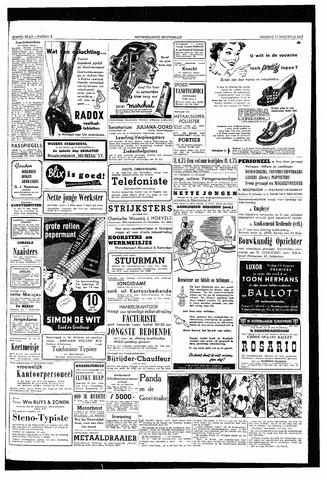 Rotterdamsch Nieuwsblad / Schiedamsche Courant / Rotterdams Dagblad / Waterweg / Algemeen Dagblad 1953-08-11