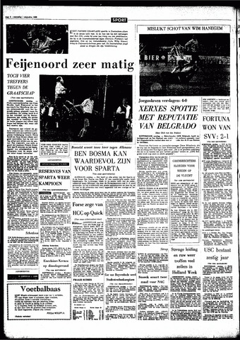 Rotterdamsch Parool / De Schiedammer 1966-08-01