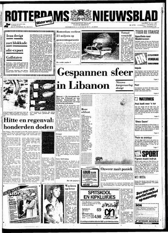 Rotterdamsch Nieuwsblad / Schiedamsche Courant / Rotterdams Dagblad / Waterweg / Algemeen Dagblad 1983-07-25