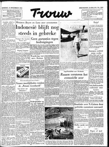 Trouw / De Rotterdammer 1955-12-13