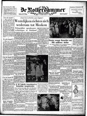 Trouw / De Rotterdammer 1953-09-03