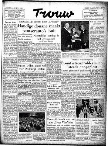Trouw / De Rotterdammer 1953-07-30