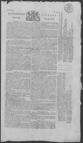 Rotterdamse Courant 1823-04-24