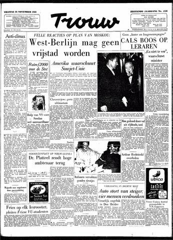 Trouw / De Rotterdammer 1958-11-28