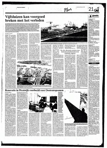 Rotterdamsch Nieuwsblad / Schiedamsche Courant / Rotterdams Dagblad / Waterweg / Algemeen Dagblad 1998-10-10