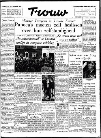 Trouw / De Rotterdammer 1960-09-23