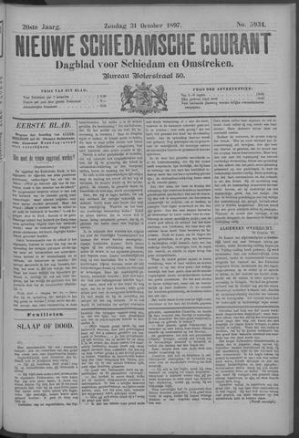Nieuwe Schiedamsche Courant 1897-10-31