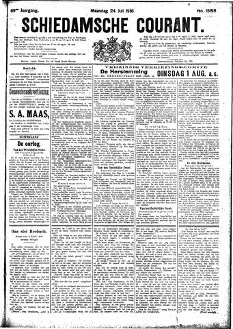 Schiedamsche Courant 1916-07-24