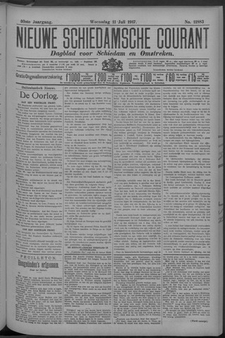 Nieuwe Schiedamsche Courant 1917-07-11