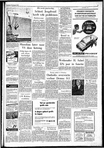Rotterdamsch Parool / De Schiedammer 1962-02-19