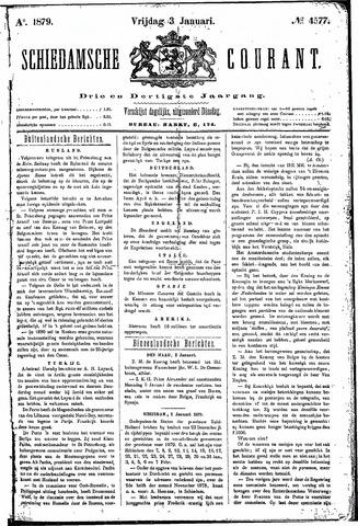 Schiedamsche Courant 1879-01-03