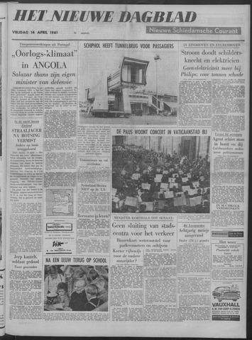 Nieuwe Schiedamsche Courant 1961-04-14