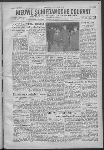 Nieuwe Schiedamsche Courant 1946-10-21