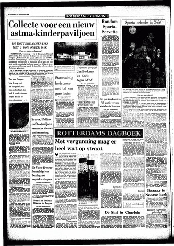 Rotterdamsch Parool / De Schiedammer 1966-11-16