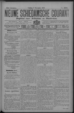 Nieuwe Schiedamsche Courant 1913-11-07