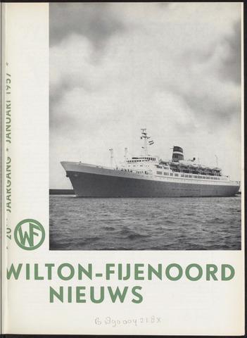 Wilton Fijenoord Nieuws 1957