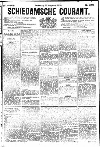 Schiedamsche Courant 1908-08-12