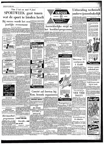 Rotterdamsch Parool / De Schiedammer 1962-05-25