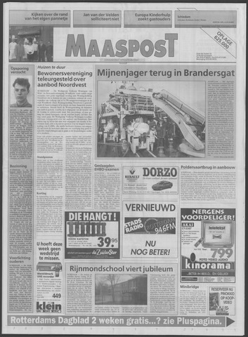 Maaspost / Maasstad / Maasstad Pers 1995-03-01