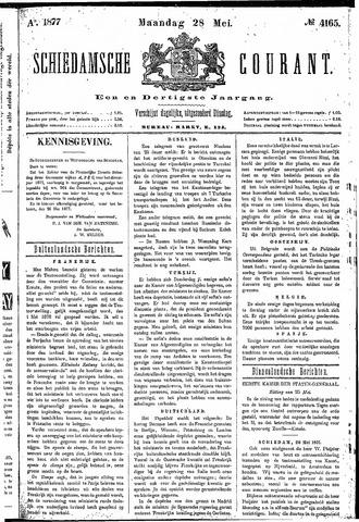 Schiedamsche Courant 1877-05-28