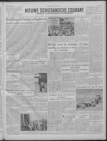 Nieuwe Schiedamsche Courant 1949-06-09