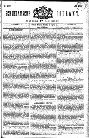 Schiedamsche Courant 1866-09-17