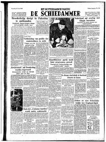 Rotterdamsch Parool / De Schiedammer 1948-06-23