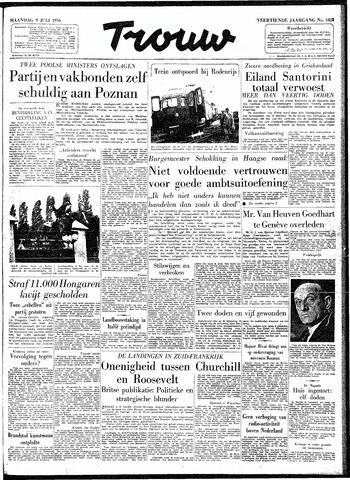 Trouw / De Rotterdammer 1956-07-09