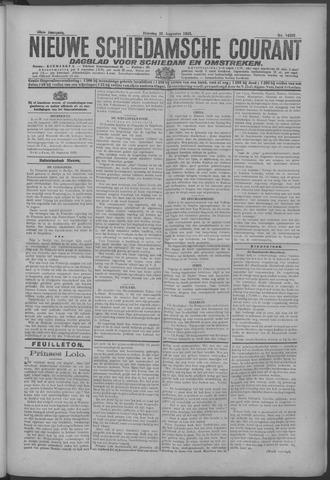 Nieuwe Schiedamsche Courant 1925-08-25