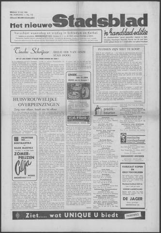 Het Nieuwe Stadsblad 1963-07-19