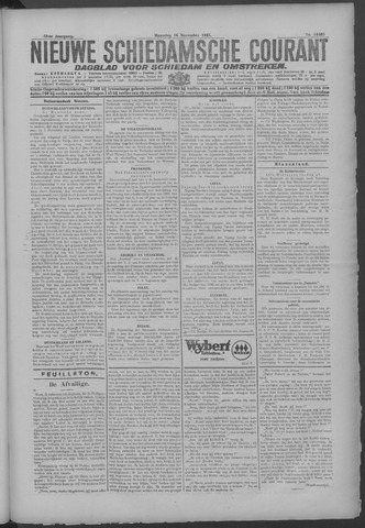 Nieuwe Schiedamsche Courant 1925-11-16