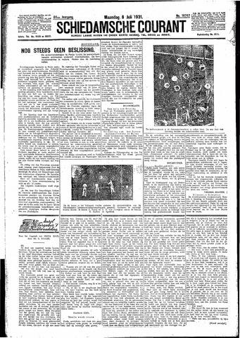 Schiedamsche Courant 1931-07-06