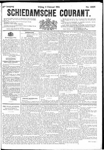 Schiedamsche Courant 1910-02-11