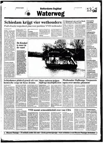 Rotterdamsch Nieuwsblad / Schiedamsche Courant / Rotterdams Dagblad / Waterweg / Algemeen Dagblad 1998-04-08
