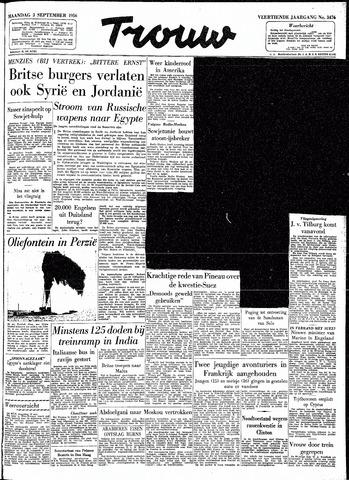 Trouw / De Rotterdammer 1956-09-03