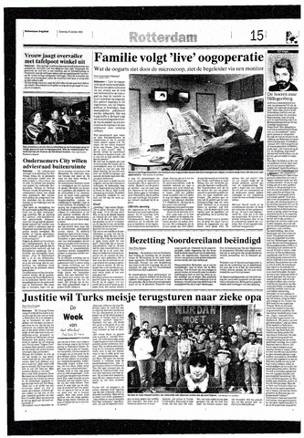 Rotterdamsch Nieuwsblad / Schiedamsche Courant / Rotterdams Dagblad / Waterweg / Algemeen Dagblad 1993-10-16