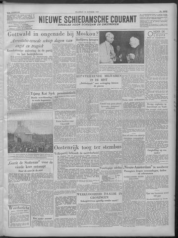 Nieuwe Schiedamsche Courant 1949-10-10