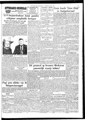 Rotterdamsch Nieuwsblad / Schiedamsche Courant / Rotterdams Dagblad / Waterweg / Algemeen Dagblad 1964-04-04
