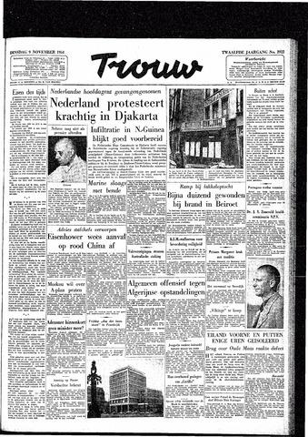 Trouw / De Rotterdammer 1954-11-09