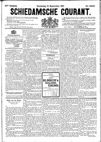 Schiedamsche Courant 1910-09-14