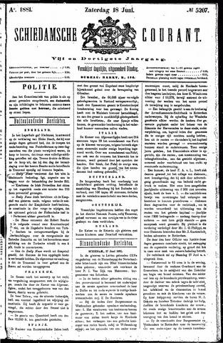Schiedamsche Courant 1881-06-18