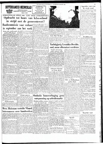 Rotterdamsch Nieuwsblad / Schiedamsche Courant / Rotterdams Dagblad / Waterweg / Algemeen Dagblad 1964-03-07