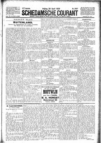 Schiedamsche Courant 1929-04-26